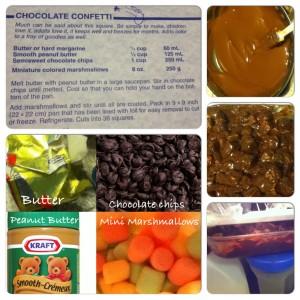 Chocolate Confetti Squares